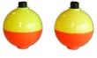 Plastilite Yellow/Orange Round Ball Floats
